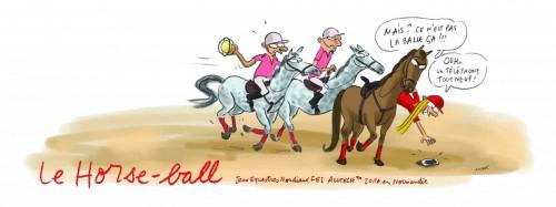 horse ball, pato, jem